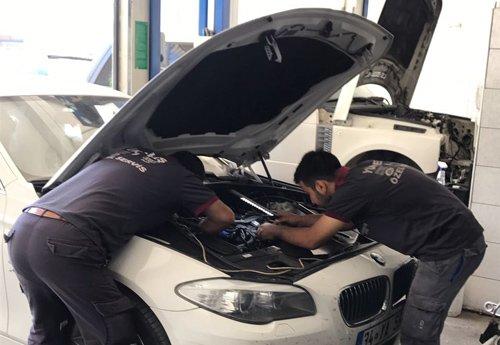 Yükseliş BMW özel servis - 21