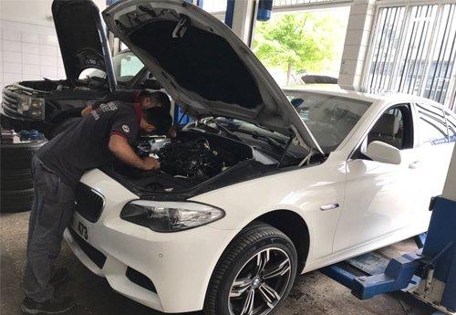 Yükseliş BMW özel servis - 23