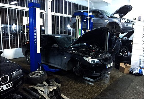 Yükseliş BMW özel servis - 16