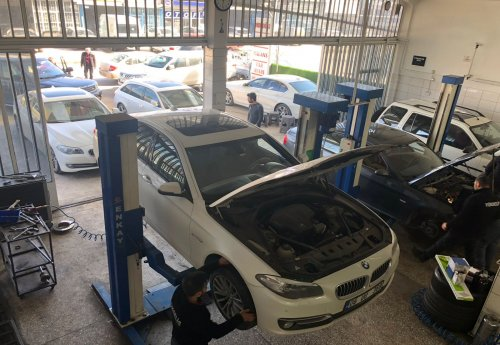 BMW Servisi Yükseliş - 2