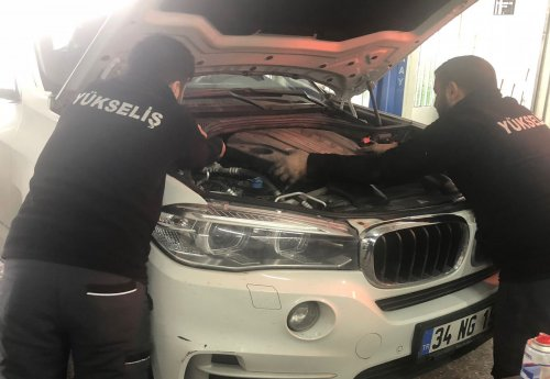 BMW Servisi Yükseliş